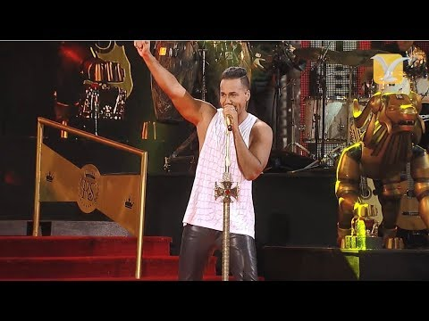 Romeo Santos - Solo por un beso  - Festival de Viña del Mar 2015 HD