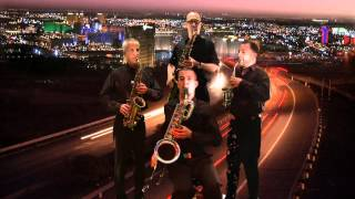 RED composed by Barbara Thompson and performed by The Tetraphonics Saxophone Quartet.