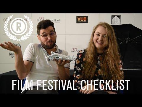 Film Festival Checklist