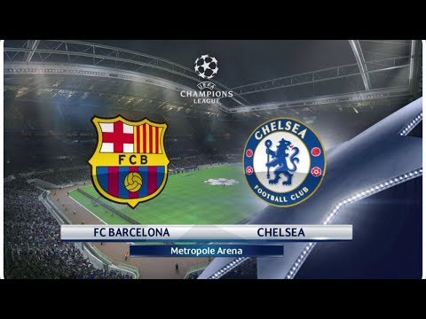 FIFA 18 || FC BARCELONA vs CHELSEA || FULL MATCH GAME-PLAY |  CHAMPIONS LEAGUE 2018
