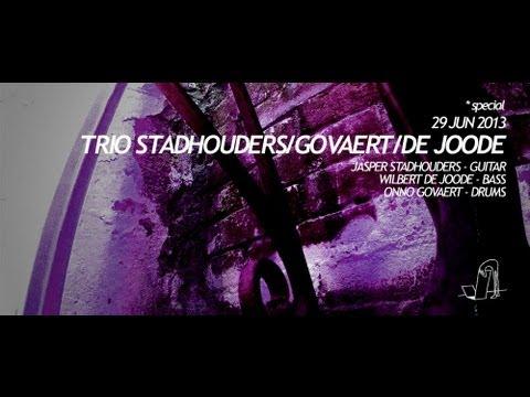 STADHOUDERS/DE JOODE/GOVAERT - 1