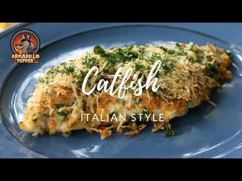 Catfish On The Grill | How To Cook Catfish On Grill - Italian Style