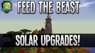 Feed The Beast: Solar Upgrades! (EP21)