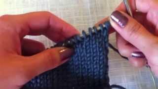 Вязание плечевого скоса укороченными рядами