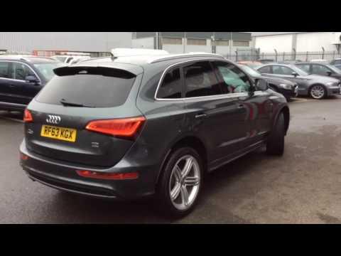 Audi Q5 s-line, 4 wheel drive, automatic - YouTube
