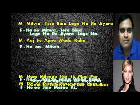 karaoke Zindgi ki na toote ladi only for male singer