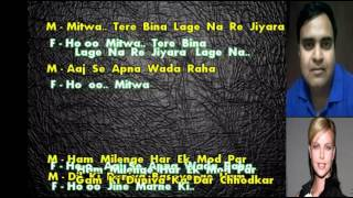 karaoke Zindgi ki na toote ladi only for male singer