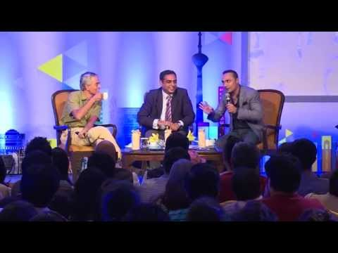 Times Lit Fest Delhi Preview - Q&A on English August with Upamanyu Chatterjee and Rahul Bose