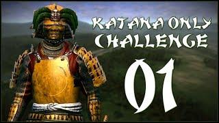 DEFENDING OUR HOME - Shimazu (Legendary Challenge: Katana Units Only) - Total War: Shogun 2 - Ep.01!