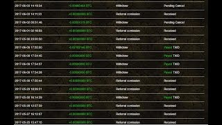 Proof That BTCProMiner Does Payout Start Mine Bitcoins 4 Free
