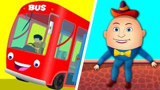 Wheels On The Bus | Humpty Dumpty | Kindergarten Nursery Rhymes For Toddlers by Kids Tv