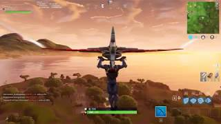 Fortnite wee 4 search between a bench ice creme truck helicopter