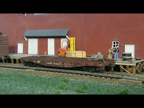 weathering a cheap flat car