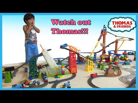 Thomas The Tank Trackmaster Pool Tracks Russian Navy Ship