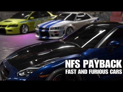 need for speed payback fast and furious cars youtube. Black Bedroom Furniture Sets. Home Design Ideas