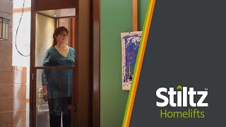 Mrs Turner Interview: Stiltz Duo Thru Home Elevator Lift
