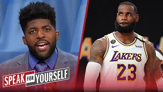 Did LeBron get snubbed in the MVP race? - Wiley & Acho discuss | NBA | SPEAK FOR YOURSELF