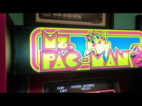 Ms. Pac-man Arcade1up Arcade Cabinet Review from eBay thesofasurfer