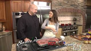 Southwest Hot Chefs and Restaurants tm, Sadies, Shredded Beef Brisket Burrito 1
