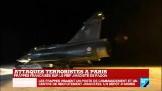 10 chasseurs français ont lâché 20 bombes sur Raqqa le fief de l