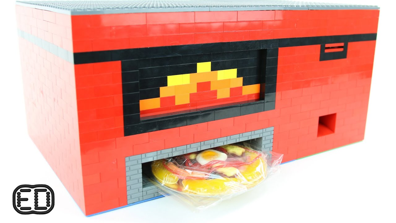 lego gummy pizza machine youtube. Black Bedroom Furniture Sets. Home Design Ideas