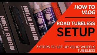 ROAD TUBELESS MADE EASY | 3 Step Set Up