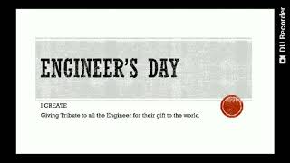 Engineer's Day on 15th September in India. A tribute to M Visvesvaraya Sir.