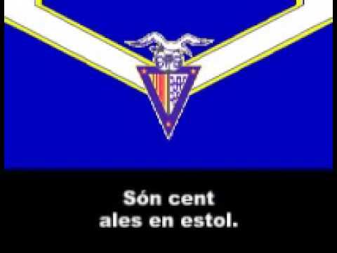 Centraldefutbol.org: Himne del C F  Badalona