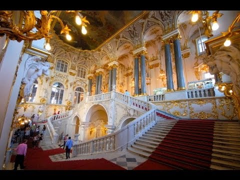 THE WINTER PALACE and STATE HERMITAGE MUSEUM, St PETERSBURG, RUSSIA