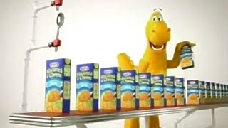 Kraft Spirals Macaroni & Cheese Cheesasaurus Rex TV Commercial HD