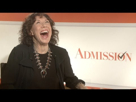 Lily Tomlin Interview for ADMISSION