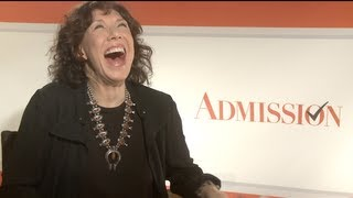 Gambar cover Lily Tomlin Interview for ADMISSION