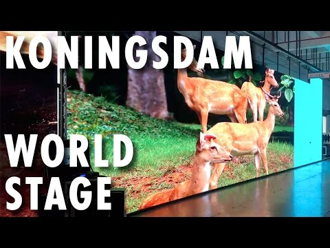 Koningsdam Preview ~ Countdown: The World Stage ~ Holland America Line ~ New Cruise Ship