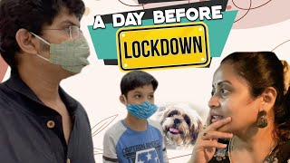 Day before Unexpected Lockdown| Preparation| Shopping in curfew time| Vlog |Sushma Kiron