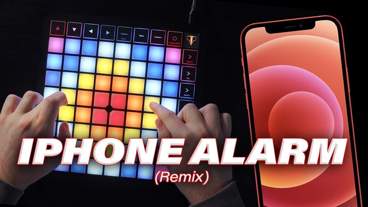 iPhone Alarm (Dubstep Remix) // Launchpad Performance