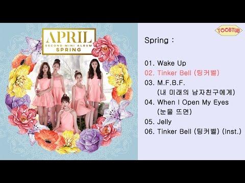 [Full Album] APRIL (에이프릴) - Spring [2nd Mini Album]