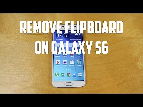 Galaxy S6 Flipboard how to Remove - Androidizen