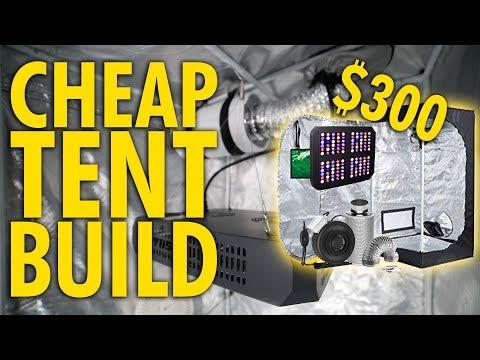 Complete $300 Budget Grow Tent Build - Discrete Closet Grow
