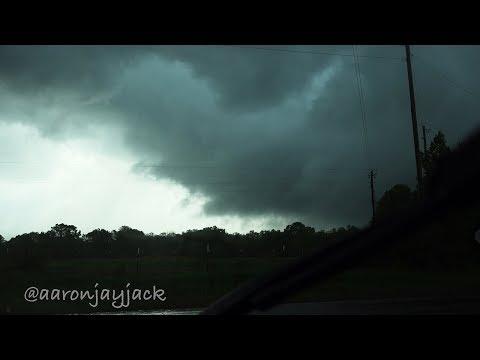 Intercepting the De Kalb, Ben Lomond, Umpire Tornado Warned Storms In the JUNGLE