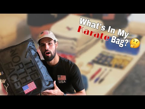 What's In My Karate Bag?