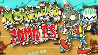 COMPLETELY CRAZY! MONSTERS VS ZOMBIES!