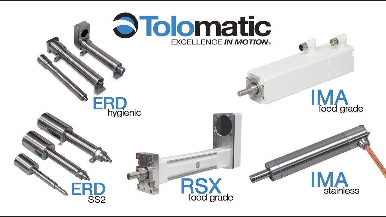 Keeping it clean: hygienic linear actuators for food safety
