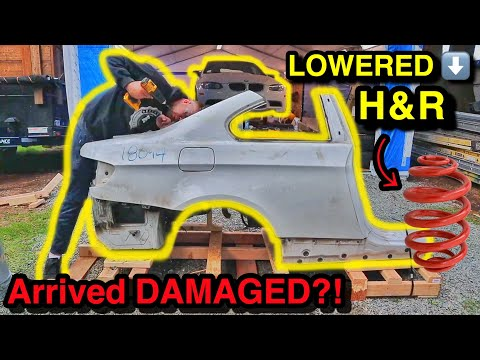 Fixing $3900 worth of DAMAGE for Just $400 on My COPART SALVAGE 2011 BMW E92 M3 (Part 5)