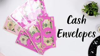 Cash Envelope Stuffing October 2019 + Sinking Funds | Paycheck #2  | New Cash Envelopes
