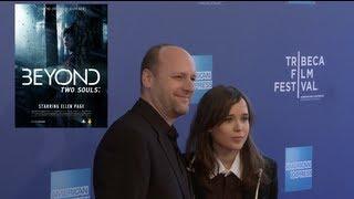 Ellen Page  David Cage for BEYOND TWO SOULS  Tribeca Film Festival