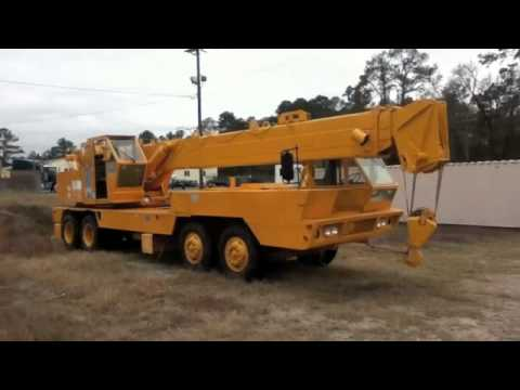 1982 P&H MT250 Truck Mounted Crane On GovLiquidation.com