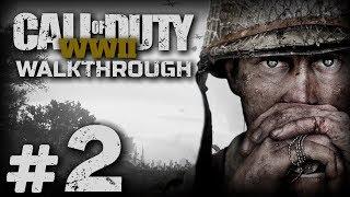 """Прохождение Call of Duty: WWII — Миссия №2: ОПЕРАЦИЯ """"КОБРА"""" (Кан, Франция)"""