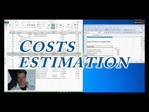 MS Project 2013 #3:  Howto Costs Estimate Your Project ●  Budget