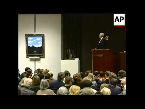 Auction of impressionist art sees high prices continue