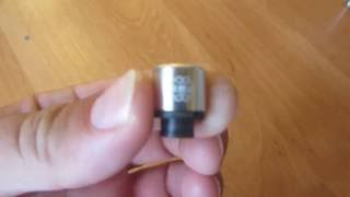 Дрип-тип Петри 510 алюминиевый  серебристый из магазина Gearbest(, 2016-08-14T15:07:35.000Z)